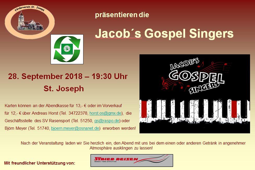 Gospel Plakat 2018