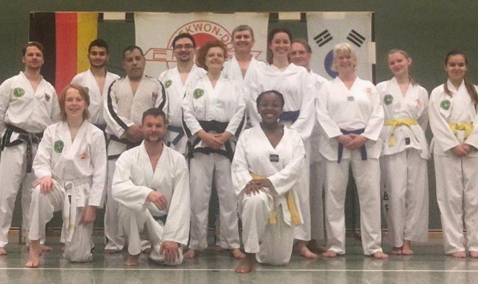 Gruppenbild Training Rahden Herbstferien 2019